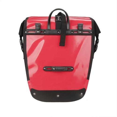 Lixada 20L Roller Bike Pannier Cycling Bicycle Rear Pack Bag Waterproof MTB Bike Seat Trunk Bag Cycling Equipment Image