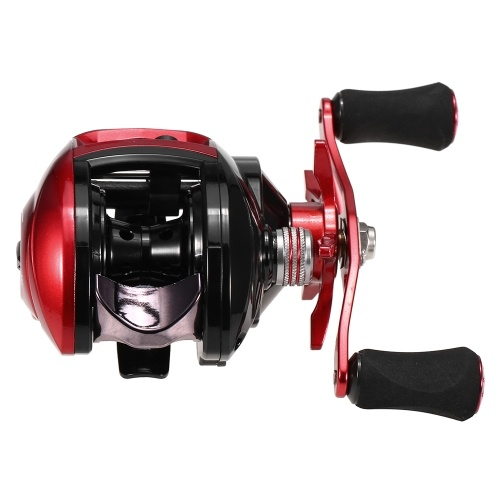 Peso leve de alta velocidade 8.1: 1 relação de engrenagem Baitcast carretel de pesca