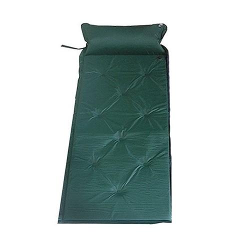 Coussin d'air portatif gonflable simple de tapis de sac de couchage