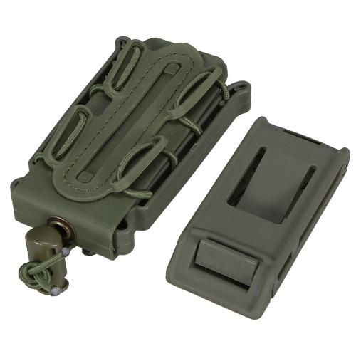 9MM Mag Pouch Molle Poly Mag Carrier Jagdausrüstung Magazinhalter Holster Extra Gürtelclip
