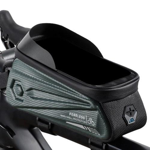 WEST BIKING Bicycle Frame Bag Tops Tube Bag Hard Shells Waterproof Bike Packs Cycling Accessories Image