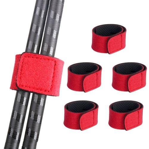 5PCS Fishing Rods Belt Ties Fishing Pole Belt Strap Image