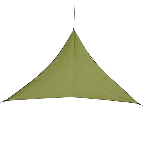 Barraca triangular líquida da vela do jardim de acampamento da luz do sol da combinação