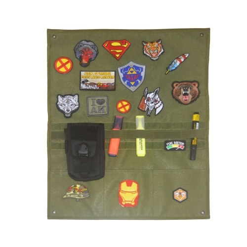 EDC Tactics Badge Display Cloth