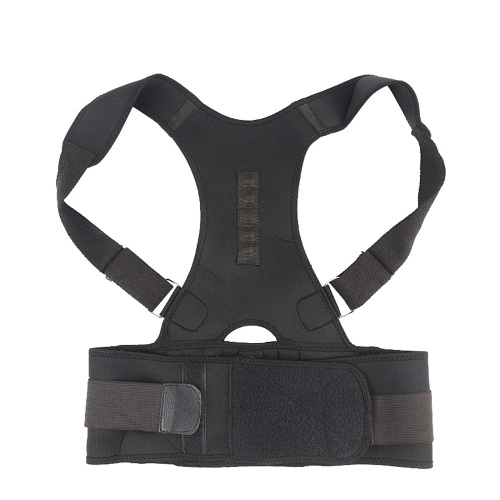 Magnetic Posture Corrector Adjustable Back Shoulder Waist Support Braces