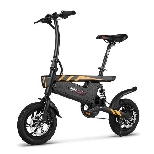 Ziyoujiguang T18 12インチ折りたたみ電動自転車