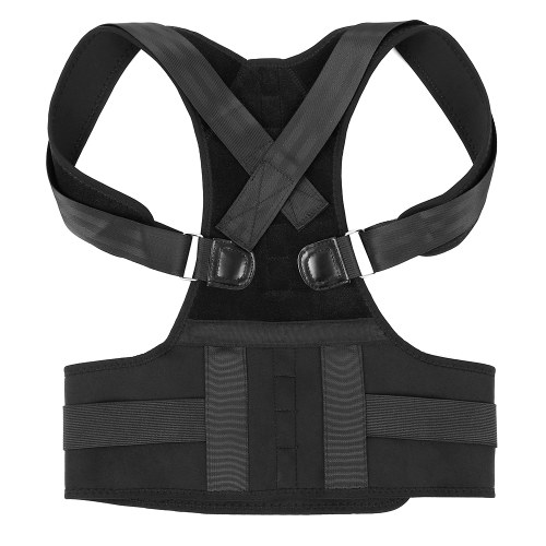 Adjustable Back Posture Corrector Shoulder Support Brace Strap