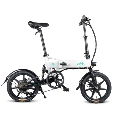 FIIDO D2S 16 Inch Variable Speed Folding Power Assist Electric Bicycle