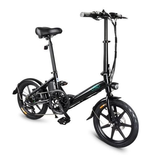 FIIDO D3S 16 Inch Variable Speed Folding Power Assist Electric Bicycle