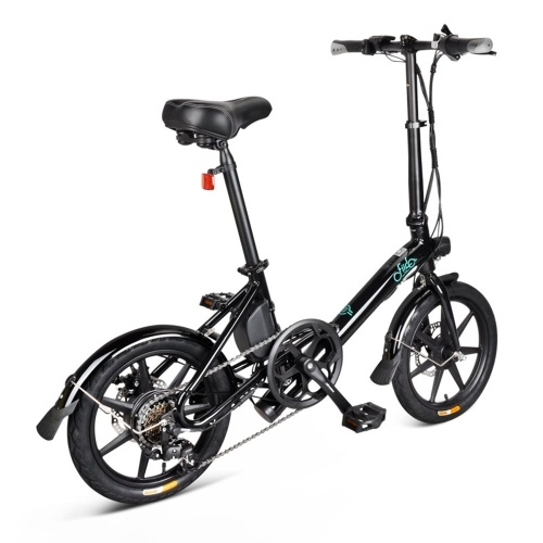 FIIDO D3S 16 Inch Variable Speed Folding Power Assist Eletric Bicycle