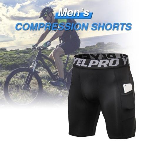 TOMTOP / Shorts de compressão para homens de 3 blocos