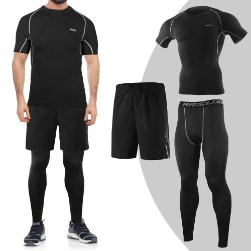 Set de ropa de entrenamiento para hombre de 3 piezas