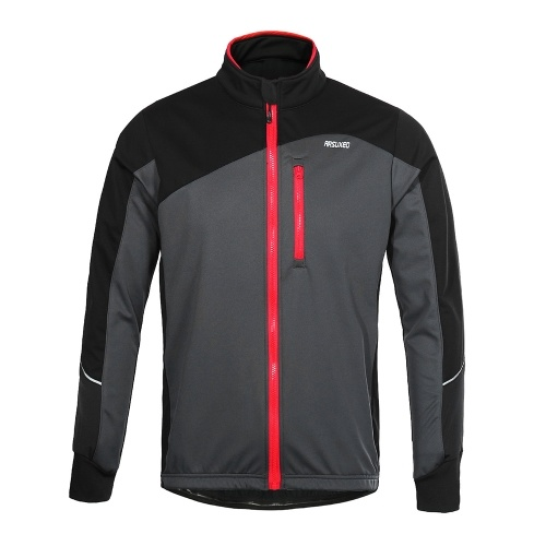 Men Cycling Jacket Windproof Breathable Long Sleeve фото