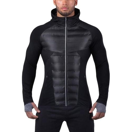 Ropa abrigada de algodón para hombres Fitness Winter