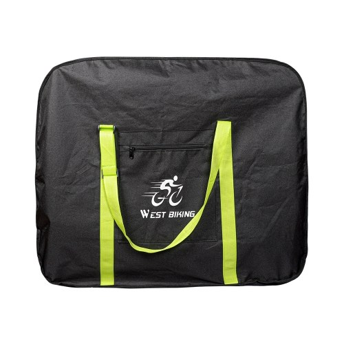 WEST BIKING Bike Cover Storage Bag Fit for 14/16/20/26/27.5 inches 700C Folding Bike Portable Thicken Travel Carry Loading Bags Image