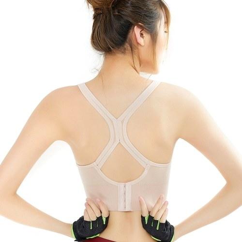 Women Wirefree Padded Yoga Sports Bra