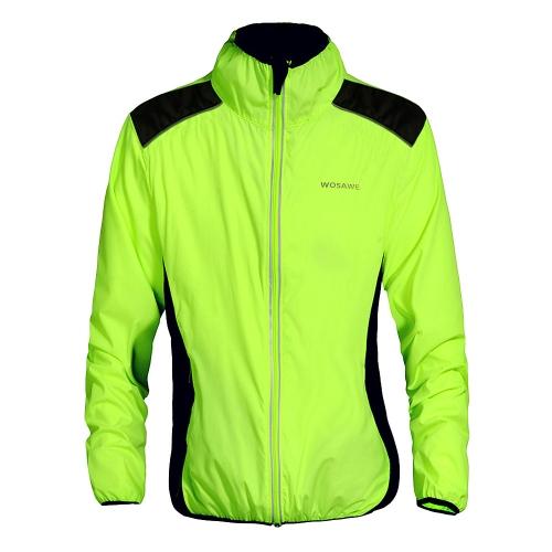 WOSAWE ciclismo maglia ciclo giacca traspirante abbigliamento Bike manica lunga cappotto di vento a cavallo