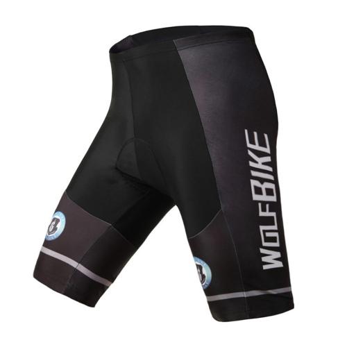 WOLFBIKE Men's  Bike Bicycle Cycling Riding Short Pants 3D Padded Gel