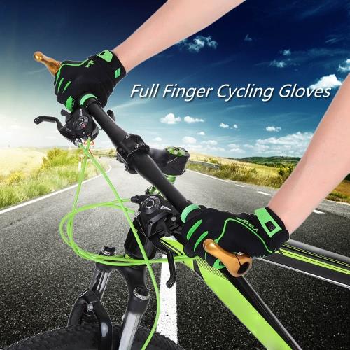 Pieno Finger Gloves Sport Arrampicata guanti da corsa guida su strada del motore della bici di riciclaggio della bicicletta