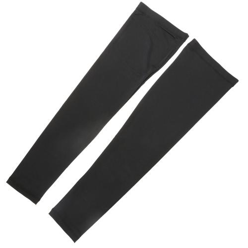 Rodilla al aire libre Deportes ciclo de la pierna de la manga del protector Brace transpirable anti-UV Baloncesto Fútbol Running ayuda de la rodilla de jogging de secado rápido de manga de la pierna