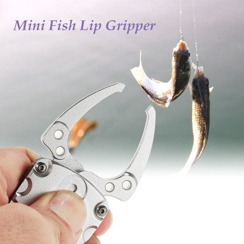Docooler Mini pesce Lip Grip Grabber Gripper Fishing Lure Grip Grab Strumenti Kayak Tackle