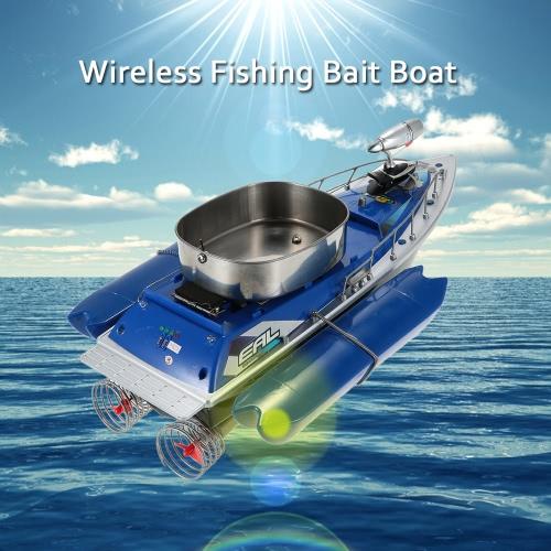 魚を見つけるためのワイヤレスルアーベイトボート高速フィッシュファインダーフックボートリモートコントロール