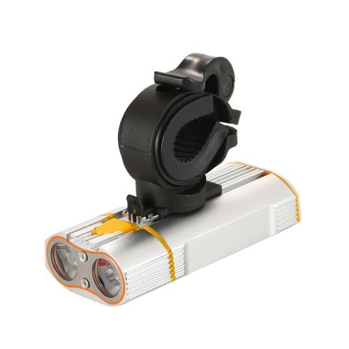 Luz brillante estupenda de la bicicleta USB recargable 800 linterna de los linterna de los lúmenes instalación fácil de la linterna del ciclo de la instalación