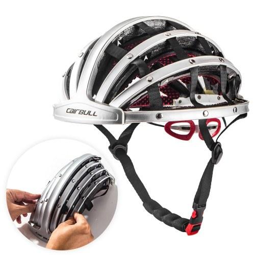 Lixada Casco da Bicicletta Pieghevole Casco da Bicicletta Adulto Bici da Corsa Leggera Casco Protettivo Sportivo Leggero
