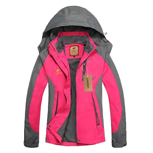 Lixada Waterproof Jacket Windproof Raincoat Sportswear