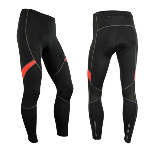 Men's 3D Gel Padded Bicycle Compression Tights