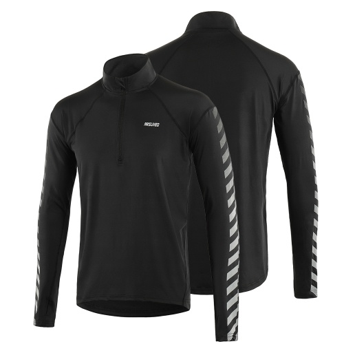 Men's Athletic Quick Dry Long Sleeve Pullover Shirt