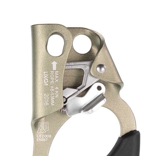Lixada правой рукой Ascender для 8 мм-13 мм скакалка скалолазания спасбросок
