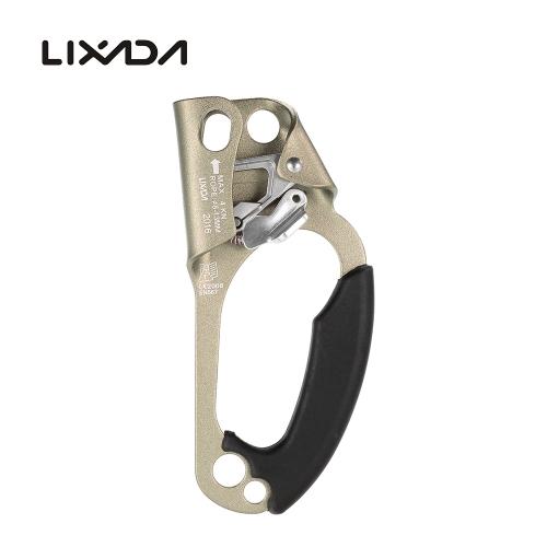 Lixada, mano derecha, ascendente, para, 8mm-13mm, cuerda, roca, escalada, espeleología, rescate