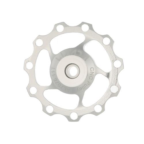 Disco ruota Lixada 1pc 11T / 13T posteriore Guida deragliatore CNC in lega di alluminio galoppino sigillata Replacement Bearings Pulley