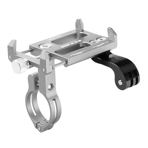 GUB Универсальный держатель руля держателя держателя держателя алюминиевого подставки для телефона 3.5-6.2 дюйма телефона GPS камеры действия фото