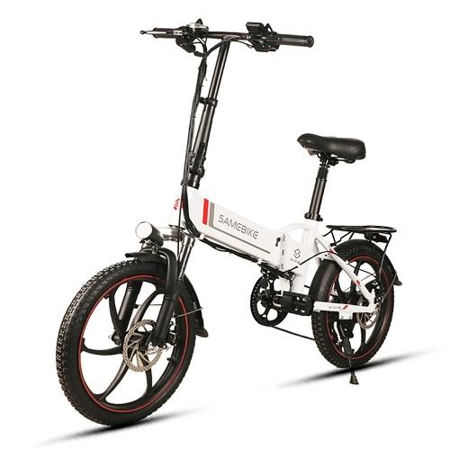 Samebike 20LVXD30 20 Дюймавы складаны электрычны ровар Power Assist Электрычны ровар