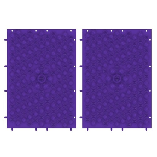 2PCS Acupressure Mats Exercise Mats