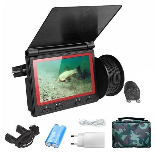 4.3inch Monitor 1000TVL Fish Finder Underwater Fishing Camera 180 Degrees Fish Finder Camera