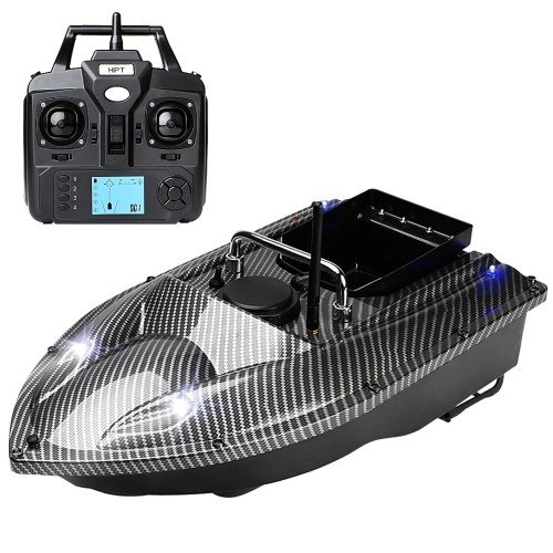 GPS Fishing Bait Boat with Single Bait Containers Automatic Bait Boat with Remote Control