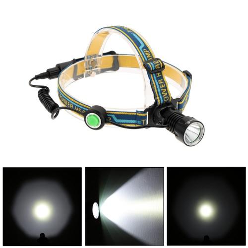 TrustFire 420Lm 3 modalità proiettore LED Headlight Campeggio Pesca Escursionismo