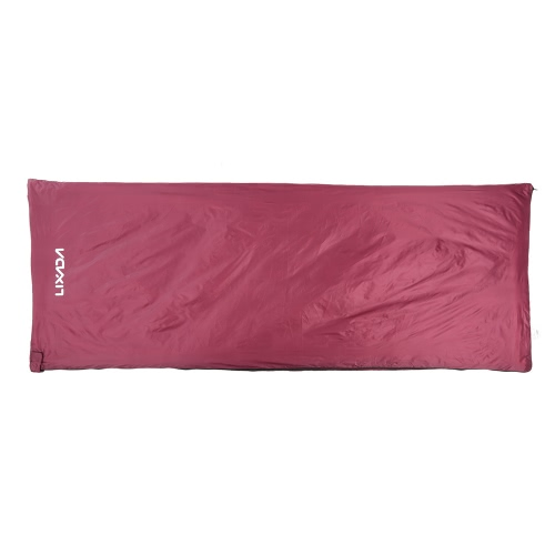 Lixada 190 * 75cm Outdoor Envelope Sleeping Bag Camping Travel Hiking Multifunction Ultra-light 680g