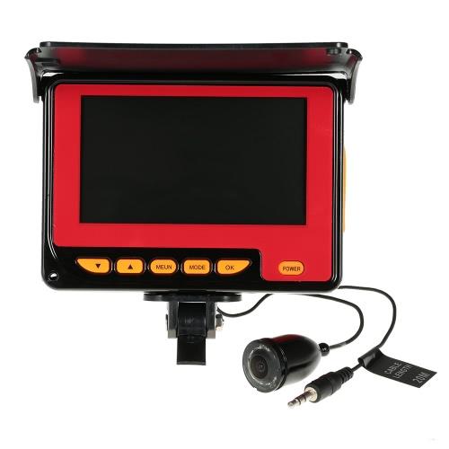 4.3 '' a colori LCD digitale 1000TVL Fish Finder HD IR LED Pesca monitor della macchina fotografica subacquea di pesca fotocamera 20M cavo UE / USA Plug