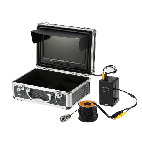 Wasserdicht 1000TVL HD Unterwasserfischen-Kamera-Fisch-Sucher 9