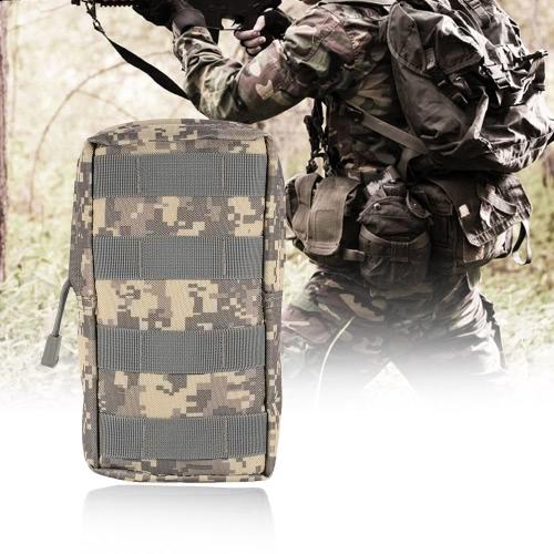 Tactical Pouch esterna militare compatto multifunzione Gadget Carrier Pouch Bag supporto dell'acqua Resistente telefono cellulare accessori Pouch