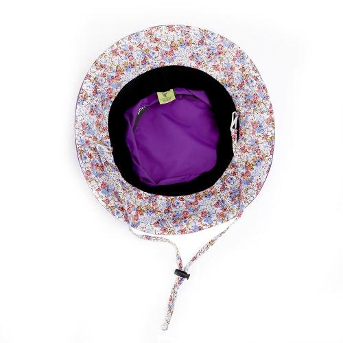 Women Girls Foldable Beach Cap UV Protection Summer Sun Hat Bucket Hat thumbnail