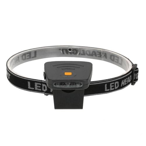 Fanale Outdoor Mini leggero LED ricaricabile luce della protezione con interruttore del sensore a infrarossi per Campeggio Pesca Ciclismo
