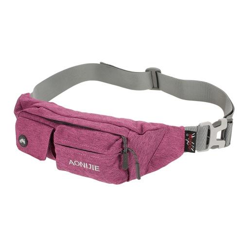 f42c2e6378e4 AONIJIE Fanny Pack Waist Bag Travel Pocket Sling Chest Shoulder Bag Phone  Holder Running Belt With Separate Pockets Adjustable Band for Workout ...
