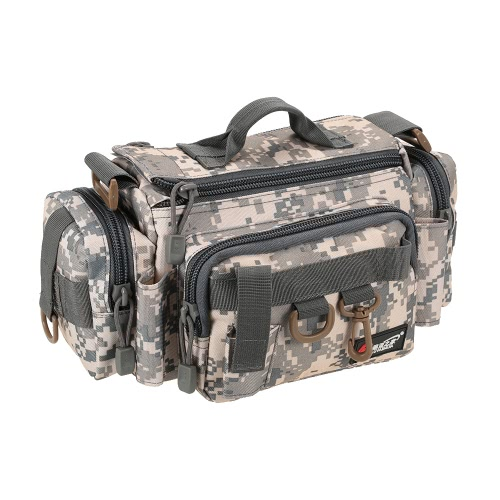 Multifunzionale pesca borsa di pesca Tackle Bag Marsupio Bait Box Bag barche Custodia Borsa