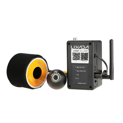 Lixada 2.4G беспроводной портативный Wi-Fi Рыбалка камера Подводной рыбалки камера осмотр эхолот 20ого беспроводной Диапазон для IOS для Android