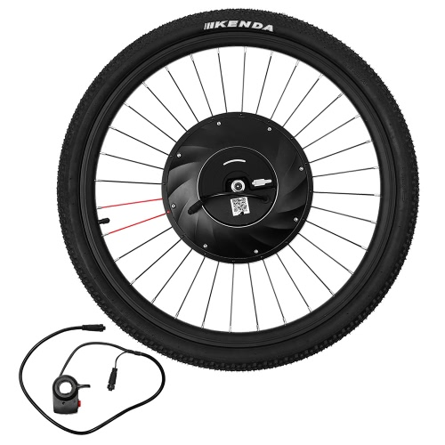 IMORTOR 26 inch Smart Electric Front Disc Brake Bicycle Wheel